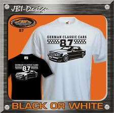 T-Shirt Oldtimer Youngtimer W124 Coupe 200CE 300CE Opel Ford Mercedes usw. ...