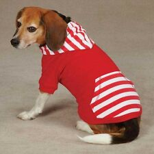 Casual Canine Americana Stripe Dog Pullover Red NEW