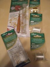 Clover  Bead Embroidery Tool- Refills &Threads #9900-9904