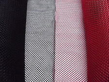 "*NEW Multipurpose Netting 50"" Wide - Sold By The Yard *Red or Black*"