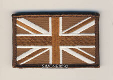 NEW GLOW IN THE DARK LUMINOUS UNION JACK VELCRO RECOGNITION PATCH,TAN,GREEN,GID
