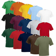 5er/10er SETS FRUIT OF THE LOOM T SHIRTS VALUEWEIGHT T S M L XL XXL XXXL 3XL NEU