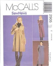 UNCUT McCalls Sewing Pattern Misses SEWNEWS Easy Fitting Dress 2905 SEW OOP NEW