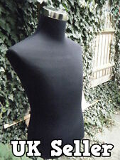TAILOR'S DRESS MAKERS MALE MANNEQUIN DUMMY FULL TORSO CLOTHES DISPLAY UK SELLER