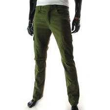 TLP) TheLees Mens casual Slim Fit Low Rise Stretchy Washing Cotton Cargo Pants