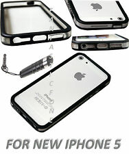 NEW STYLISH BUMPER SERIES CASE COVER FOR APPLE IPHONE 5 5G, STYLUS, SCREEN GUARD