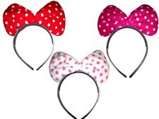 Mini mouse spotty bow head bands