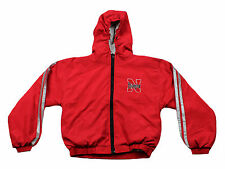 Nebraska Cornhuskers NCAA Youth Lightweight Reversible Hooded Jacket, Red