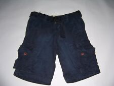 Hollister By Abercrombie & Fitch Men's Faria Beach Cargo Shorts With Belt  NWT!