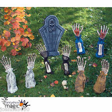 NEW HALLOWEEN HORROR ARMS SKELETON BONES GROUND BREAKER GROUNDBREAKER DECORATION