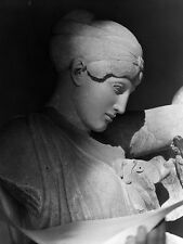 Head Female Lapith From Battle Centaurs Scene Temple Zeus At Olympia Sougioultzo