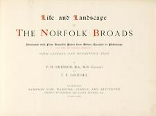 Life Landscape Norfolk Broads Illustrated With Forty Beautiful Plates From Natur