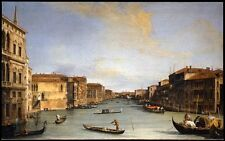 Photo Print Reproduction View Of Grand Canal Canaletto Canal Other Sizes A