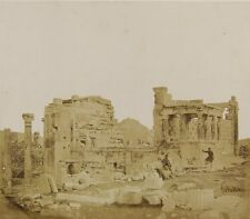 Photo Print Reproduction View Of Erechtheum From Southwest Robertson James