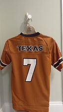 NWT NCAA University of Texas Longhorns Mesh Youth Team Jersey - Sizes 4 -18