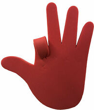 'The Adjustable' Giant Foam Hand.  Make up your own hand signs