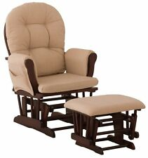 NO TAX! NEW Stork Craft Bowback Hoop Glider with Ottoman Baby Chair Seat Rocker