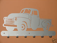Vintage Pick Up Truck COAT RACK Robe Hook Metal Jacket Hanger Gear Hat Overalls