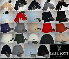 Lyle & and Scott Heritage Gloves Beanie Hat Scarf NEW, additional items