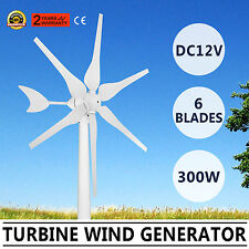 TURBINE 300W WIND GENERATOR WIND ENERGY 12/24V WATTS MAX ELECTRICITY BRAND NEW