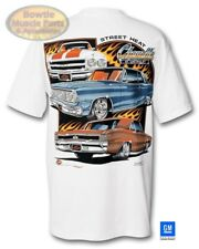 "64 65 66 67 68 69 70 71 72 CHEVELLE ""STREET HEAT"" T-SHIRT TEE SHIRT GM LICENSED"