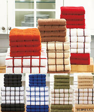 10 pc Terry Microfiber Kitchen Hand Towel IN STOCK Dish Cloth Set 7 Colors