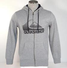 Quiksilver Signature Sherpa Lined Hooded Jacket Hoodie Mens NWT