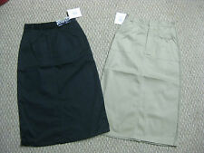 Girls Skirts skirt Uniform Khaki Navy Blue 7 8 10 12 14 16 18 20 1/2 school NEW