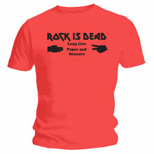 Rock Is Dead - NEW Funny T-Shirt - Red