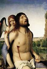 Photo Print The Dead Christ Supported by an Angel Antonello Da Messina - in vari