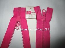 "CHUNKY OPEN END #5 ZIPPER/ZIP 40CM(16"")0135 PICK 1 FASHION*COLOR*"