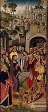 Photo Print: Master Of The Thuison Altarpiece Entry Into Jerusalem #jwnh3033