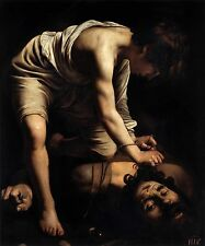 Photo Print David and Goliath Caravaggio- various sizes jwg-11061