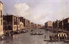 Photo Print Grand Canal: Looking South-East from the Campo Santa Sophia to the R