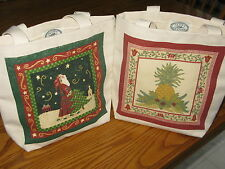 NEW with TAG-ALICE'S COTTAGE-Medium size canvas tote-Made in the U.S.A.