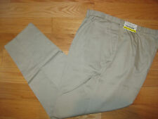 Lady Edwards Khaki Chino Uniform Pants 8 10 X 34 Unhemmed NEW