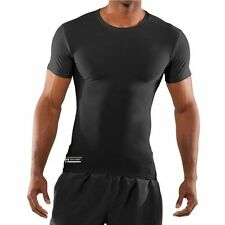 Under Armour Men's UA Tactical Heatgear Compression T Shirt BLACK 1216007