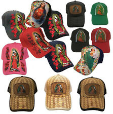 TATTOO Fashion Trucker  Baseball Virgin Guadalupe Maria Jesus Cap  Hat