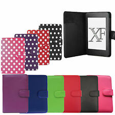 LEATHER SMART CASE COVER FLIP WALLET FOR AMAZON KINDLE PAPERWHITE WiFi / 3G