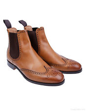 Cheaney Men's Albert II Chelsea Boots – Original Chestnut