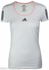 ladies Women's New Adidas climacool Sports, Gym, T-Shirt  Top - White RRP £29.99