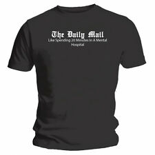 The Daily Mail - NEW Funny T-Shirt - Black