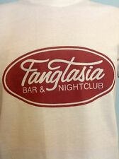 FANGTASIA Bar & Nightclub, True Blood, Ladies & Mens White T Shirt Sizes S - XL