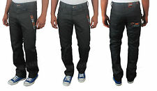 BRAND NEW LATEST MENS ZE:ENZO EZ133 BLACK COATED JEANS   BARGAIN SALE PRICE