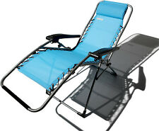 STRATHWOOD ADJUSTABLE ANTIGRAVITY RECLINER LOUNGE CHAIR PATIO BEACH LAWN LOUNGER