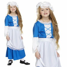 GIRLS SCHOOL CURRICULUM VICTORIAN PEASANT MAID BOOK WEEK FANCY DRESS COSTUME