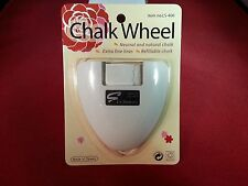 """Chalk Wheel Tailors Fabric Marker """" Pick Your Color """" Pink,Yellow,Blue,White"""