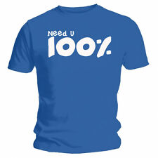 Need U 100% Funny Blue T-shirt Unisex Duke Dumont Lyric