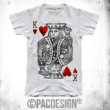 T-SHIRT POKER ASSO JOKER FASHION TEXAS HOLD EM KING WHY SO HAPPINESS FE0020A