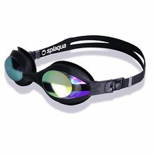 SPLAQUA OPTICAL SWIM GOGGLES W/ METALLIZED LENSES/ FREE GIFT INC -1.50 To -10.00